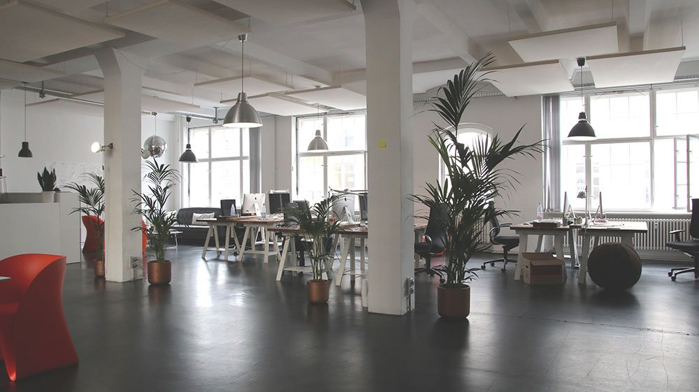 office in a smart building