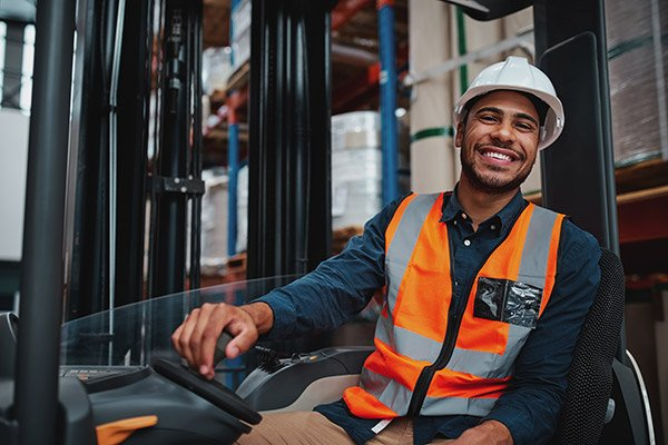 Safer workplace_Happy worker