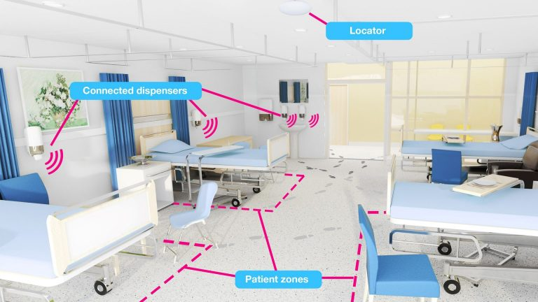 QUUPPA location tracking in Healthcare